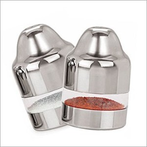 Thanks GivingプレゼントにLoved Ones Salt & Pepper Shaker Svaty /ガラス&ステンレススチール塩コショウ、Grinder with粗さ調節可能...