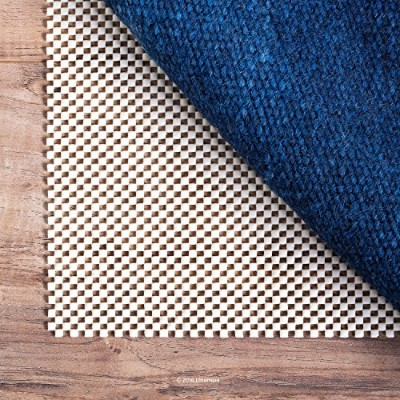 (2.4m x 3m) - LINENSPA Ultra Grip Non Slip Rug Pad - Heavy Duty Area Rug Gripper for Any Floor...