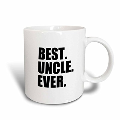 3dローズInspirationzStoreタイポグラフィ–Best Uncle Ever–ファミリーギフトfor親戚とHonorary Uncles and Great Uncles–...