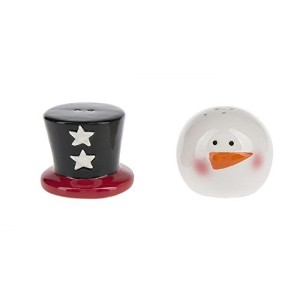 国雪だるまSalt and Pepper Shaker
