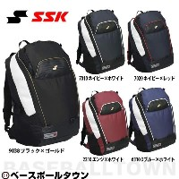 20%OFF 最大12%引クーポン SSK バックパック BA150 野球 リュックサック バッグ 部活 合宿 BAG_P3