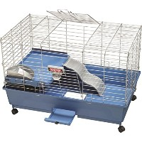 "Kaytee My First Home Deluxe Large with Casters Ez Clean Habitat Cage 30"" x 18"""