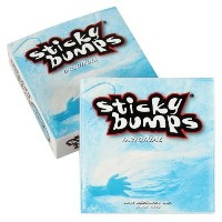 Sticky Bumps Coolサーフワックスボックス(パックof 3)、ホワイトby Sticky Bumps
