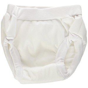 Kushies Baby PUL Training Pant, White, Medium by Kushies