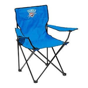 ロゴChair Oklahoma City Thunder Quad Chair ブルー