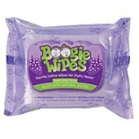 BOOGIE WIPES FOR NOSE GRAPE Size: 30 by Little Busy Bodies