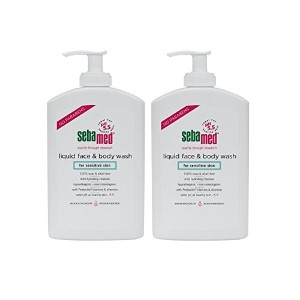 Sebamed Liquid Face & Body Wash with Pump, 400ml, 2 Pack by Sebamed