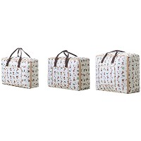 Zhhlaixing 3pcs Premium Travel Storage Bag High Capacity Luggage Clothes Tidy Organizer Pouch...