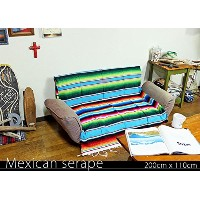 RUG&PIECE Mexican Serape made in mexcico ネイティブ メキシカン サラペ メキシコ製 200cm×110cm (rug-5926)