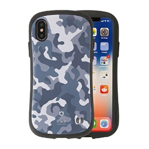 iFace First Class Military iPhone X ケース 耐衝撃 / グレー