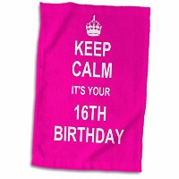 3dローズInspirationzStore–Keep Calm Its Your 16日誕生日–ホットピンクガーリーGirls Fun Stay CalmについてTurning Sweet...