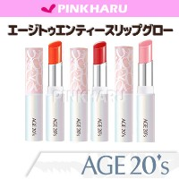AGE 20s COVER PACT?1+1エージトゥエンティズアップテンションリップグロー(AGE20's UPーTENTION LIPGLOW)  ピンクハル(PINKHARU)