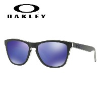 OAKLEY オークリー サングラス Frogskins Checkbox Collection Violet Iridium (Asia Fit) フロッグスキン OO9245-58 54...
