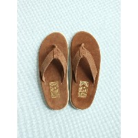 ISLAND SLIPPER LEATHER SANDAL (SUEDE) #PEANUTS 115711310