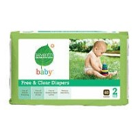 Seventh Generation Diapers, Size 2, 40 ct