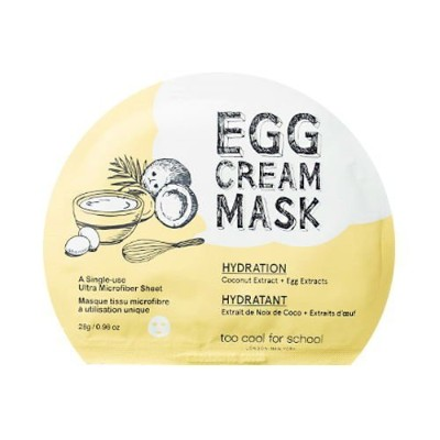 TOO COOL FOR SCHOOL Egg Cream Mask (Hydration) (並行輸入品)