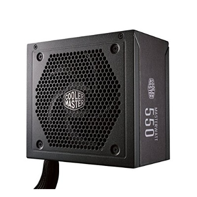 Cooler Master MW Semi-Modular 550W PC電源ユニット [80PLUS BRONZE] PS767 MPX-5501-AMAAB-JP