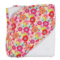 C.R. Gibson Hooded Towel and Washcloth Set, Cutie Pie by C.R. Gibson