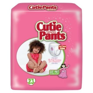 Cuties? Training Pants for Girls - Case/92 (3T - 4T - Girls (32 - 40 lbs.)) by Cuties