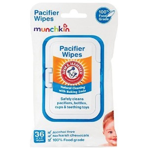 Munchkin Arm & Hammer Pacifier Wipes - 1 Packs of 36 Wipes (Total 36 Count) by Munchkin
