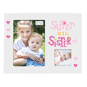 Jill McDonald Kids Photo Frame, Big Sister by Jill McDonald Kids