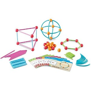"""Dive into Shapes!(TM) A """"Sea"""" and Build Geometry Set 図形玩具 挿して繋げて! 2D&3D図形を作ろう!"""