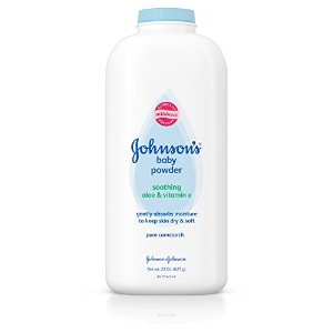 Johnson's Baby Powder, Soothing Aloe & Vitamin E, 22 Ounce by Johnson's Baby