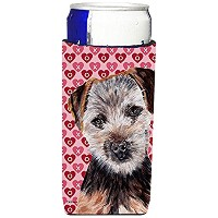 Norfolk Terrier Puppy Hearts and Love Ultra Beverage Insulators forスリム缶sc9711muk