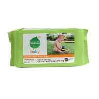 Seventh Generation Baby Wipes with Aloe Vera & Vitamin E, Refill, Unscented 70 Ea by Seventh...