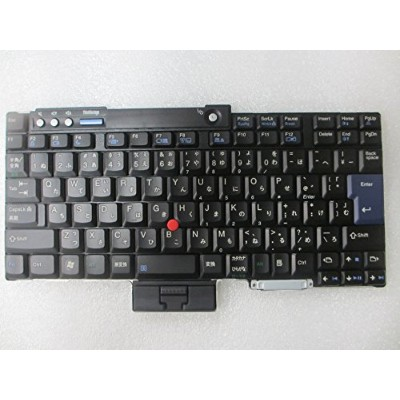 JP 日本語キーボード for Lenovo Thinkpad T60 T61 R60 R61 T400 T500 R400 R500 FRU 42T4092 42T4028 [並行輸入品]