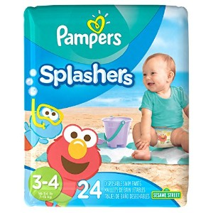 Pampers Splashers, Swim Pants, Size 3/4 Diapers, 24 Count (Pack of 6) by Pampers