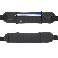Aoming Runningウエストパック、Fanny Pack Runningベルト、多機能コンパクトfor carrying all your Necessities With Eyelet...