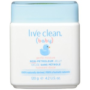 Live Clean Baby Non-Petroleum Jelly, 4.2 oz by Live Clean