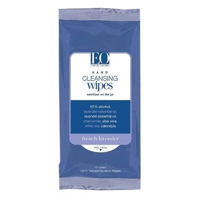 Eo Hand Cleansing Wipes Lavender - 10 - Wipes (並行輸入品)