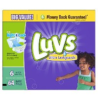 Luvs Ultra Leakguards Diapers (Over 35 lbs) - 64 CT by Luvs