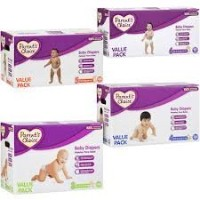 Parent's Choice - Diapers Value Pack Size 4 (pack count 124) for 22-37 lbs by Parent's Choice