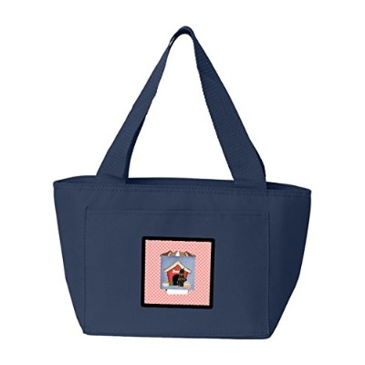 Caroline's Treasures BB2834NA-8808 House Collection Beauce Shepherd Dog Insulated Lunch Bag, Large,...