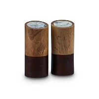 Thirstystone Stained木製Salt & Pepper Shakers 標準 NCGT77