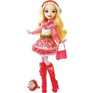 エバーアフターハイ アップル・ホワイト Epic Winter (Ever After High Epic Winter Apple White Doll /MATTEL/DPG88 /人形)
