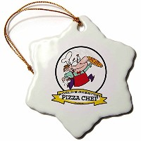 3drose Dooni Designs Worlds Greatest漫画–Funny Worlds Greatest Pizza Chef OccupationジョブCartoon–...