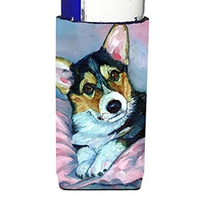 Corgi Puppy withピンクBlanket Ultra Beverage Insulators forスリム缶7301 MUK
