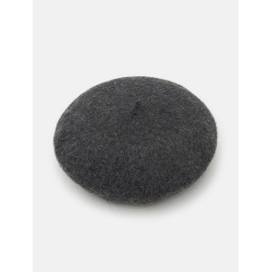 8SECONDS Clover Embroidery Beret - Ash