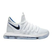 "Nike KD 10 X ""Numbers"" キッズ/レディース White/Game Royal/Univ Gold ナイキ バッシュ Kevin Durant ケビン・デュラント"
