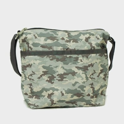 レスポートサック LeSportsac SMALL CLEO CROSSBODY HOBO ショルダーバッグ CAMO CONCERT 7562 E122