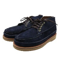 Russell Moccasin(ラッセルモカシン)SP.5EYELET SP.CLAYS CHUKKA Elk Suede Navy 別注5アイレットスポーティングクレイチャッカ