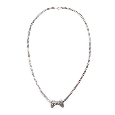 Sony Playstation Controller Necklace, One Size, Silver/metal Je150323sny