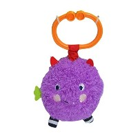 Sassy Non-sters Bo-bo Motion Activated Silly Sounds Clip-on Plush [並行輸入品]