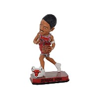 デリック・ローズシカゴブルズForever Collectibles 2014 NBA Springy Logo Base Bobblehead