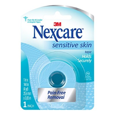 Nexcare Sensitive Skin Tape, 1 inch by Nexcare