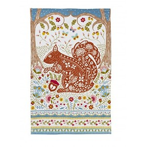 Ulster Weavers Woodland Squirrel Cotton Tea Towel by Ulster Weavers